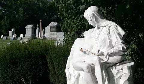Литая скульптура — особое украшение для надгробия